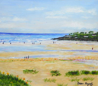 Ireland Painting - Staying Out For The Summer by Noreen Hegarty