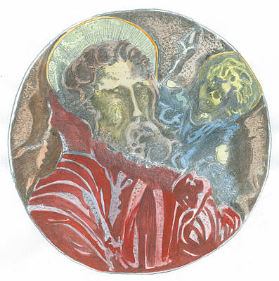 St.christopher 7 Q Original by Marko Jezernik