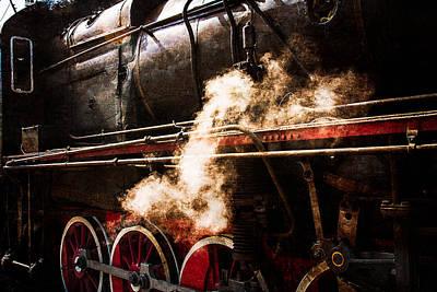 Steam And Iron - Steam Power Print by Alexander Senin