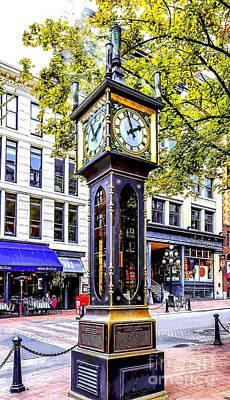 Steam Clock Original by Jon Burch Photography