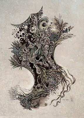 Steam Forest Print by Tom Koval