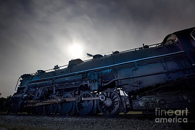 Steam Locomotive Photograph - Steam Locomotive by Keith Kapple