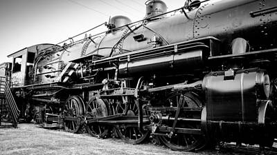 Steam Locomotive Photograph - Steam Power by Geoff Mckay