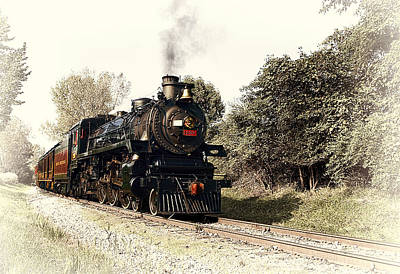 Transportation Photograph - Steam Train by Marcia Colelli