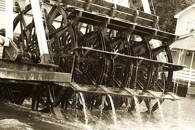 Steamboat Print by Nicholas Evans