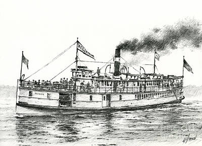 Steamboat Reliance Original by James Williamson