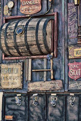 Steampunk Brewery  Print by Eti Reid