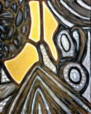 Modernart Painting - Steampunk by Jeremy Petrachonis