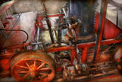 Steampunk Photograph - Steampunk - My Transportation Device by Mike Savad