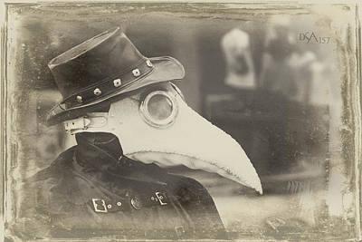 Steampunk Photograph - Steampunk Plague Doctor by David April