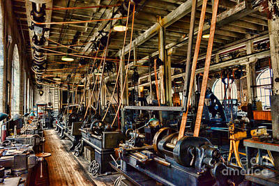 Steampunk - The Age Of Industry Print by Paul Ward