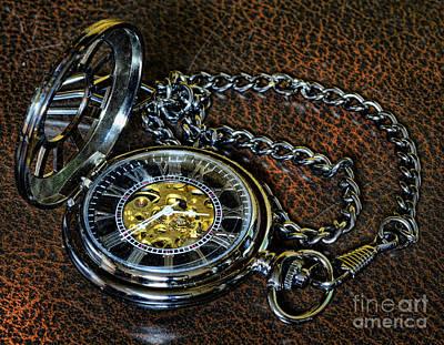 Steampunk - The Pocketwatch Print by Paul Ward