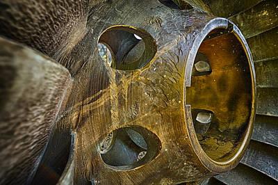 Steampunk Turbine Print by Scott Campbell