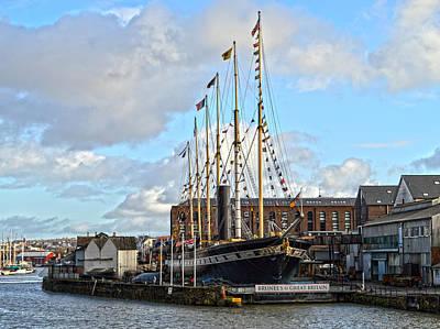 Bristol Photograph - Steamship Great Britain by Bishopston Fine Art