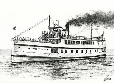 Steamship Virginia V Original by James Williamson