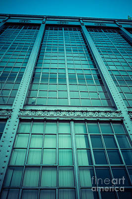 Rivets Photograph - Steel And Glass by Edward Fielding