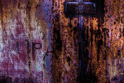 Steel Door Number One Print by Bob Orsillo