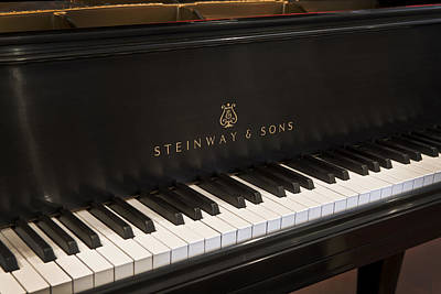 Steinway And Sons Print by Rich Franco