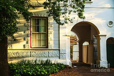 Stellenbosch Gate Print by Rick Bragan