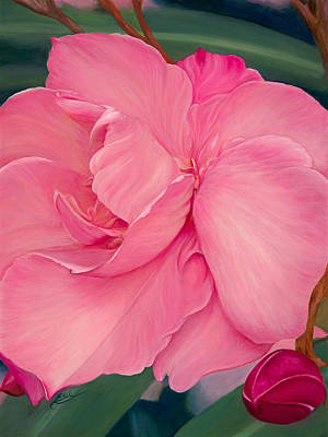 Oleanders Painting - Stems And Petticoats by Ellen Schauer