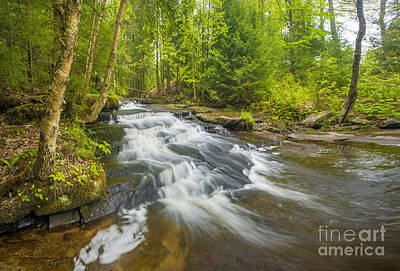 Colette Photograph - Step Falls Of Bicknell Brook by Jim Block