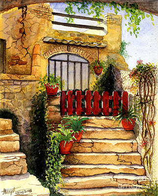 Watercolor Painting - Steps by Abhijit Dharankar