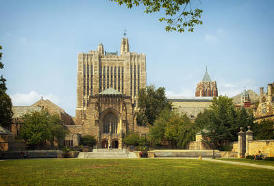 Sterling Photograph - Sterling Memorial Library - Yale University by Mountain Dreams