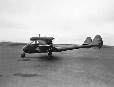Black Commerce Photograph - Sterman-hammond Y-1s Aircraft by Underwood Archives