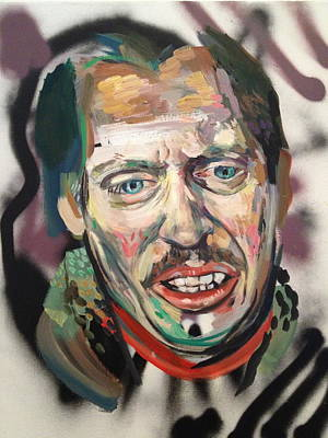Lebowski Painting - Steve Buscemi by Britt Kuechenmeister
