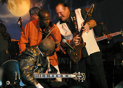 Steve Cropper And B.b. King Original by Don Olea