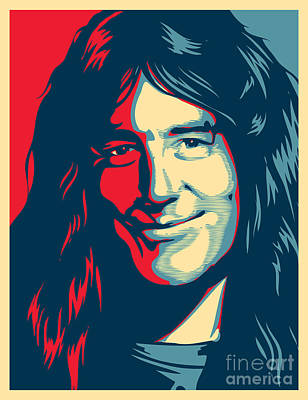 Illusttation Digital Art - Steve Harris by Caio Caldas