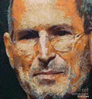 Steve Jobs Print by Dragica  Micki Fortuna