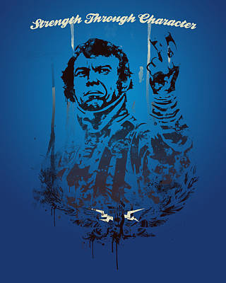 Steve Mcqueen Print by Pop Culture Prophet
