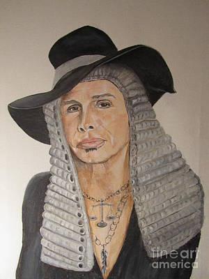 Steven Tyler Painting - Steven Tyler As American Idol Judge by Jeepee Aero