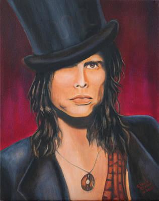 Steven Tyler Painting - Steven Tyler by Elena Melnikova