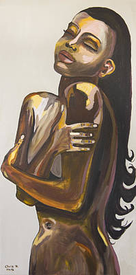 Nudes Painting - Still In Love With You by Christel  Roelandt