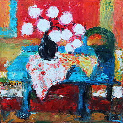Loose Style Painting - Still Life In Studio 1 by Becky Kim