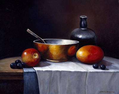 Zaccheo Painting - Still Life Rhapsody by John Zaccheo
