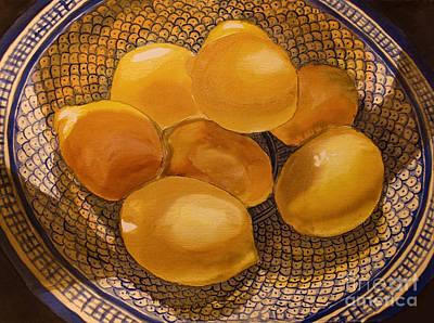 Still Life With Lemons Original by Alexandra Jordankova
