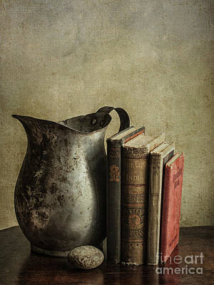 Pages Of Life Photograph - Still Life With Pitcher by Terry Rowe