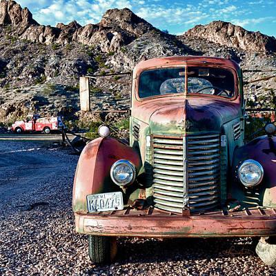 Haunted Photograph - Still Truckin' by Renee Sullivan