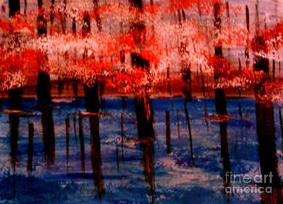 Still Waters Print by Lori  Lovetere
