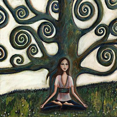 Stillness Original by Denise Daffara