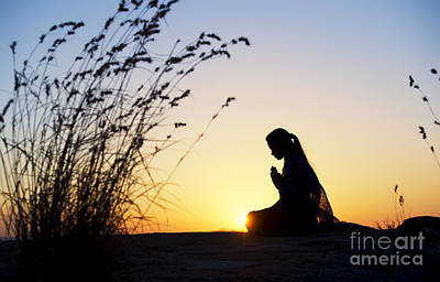 Thoughtful Photograph - Stillness Of Prayer by Tim Gainey
