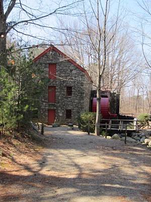 Stillness Of The Grist Mill Print by Patricia Urato