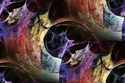 Strong Digital Art - Stirring Memories by Anastasiya Malakhova