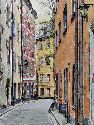 Stockholm Digital Art - Stockholm 15 by Yury Malkov
