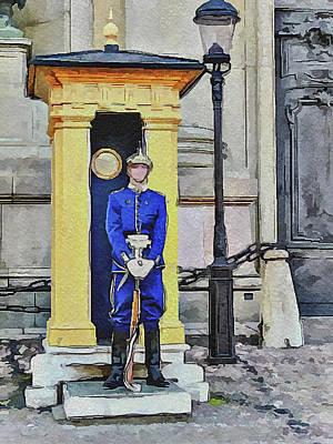 Sweden Digital Art - Stockholm 3 by Yury Malkov