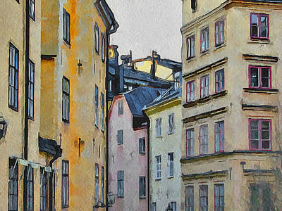 Stockholm 8 Print by Yury Malkov