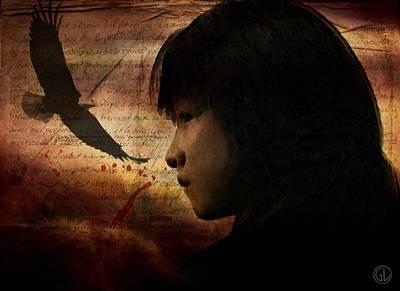 Native American Woman Digital Art - Stolen Spirit by Gun Legler